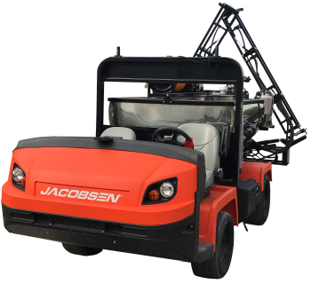 Jacobsen XD Truck with Chem Turf Sprayer and Turfluc system